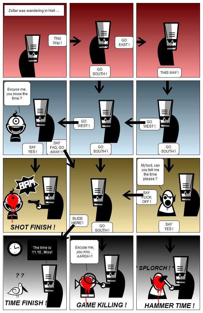ZOLTAR Interactive Strip !