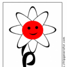an atomic flower