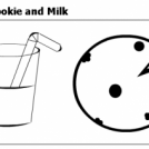 #24: Big Cookie and Milk