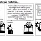 Gimmick and Iggy: It always feels like...