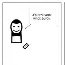 French Comic Strip Good Day