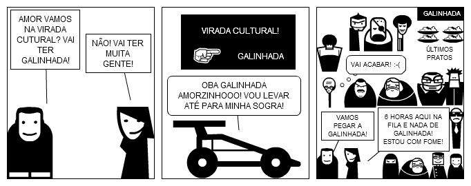 GALINHADA DA VIRADA CULTURAL