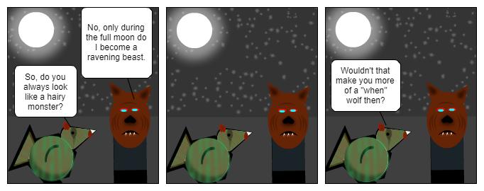 When wolf
