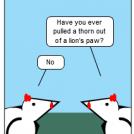 The Hen That Roared