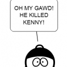 He killed kenny!