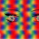 Kaleidoscope eyes.