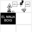 EL NINJA BOIG