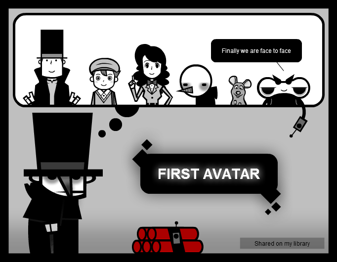 Argami's first avatar!