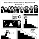 My daily adventures in high school episode 2
