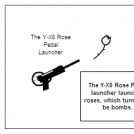 The Y-X8 Rose Pedal Launcher