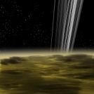 Cassini--below the rings