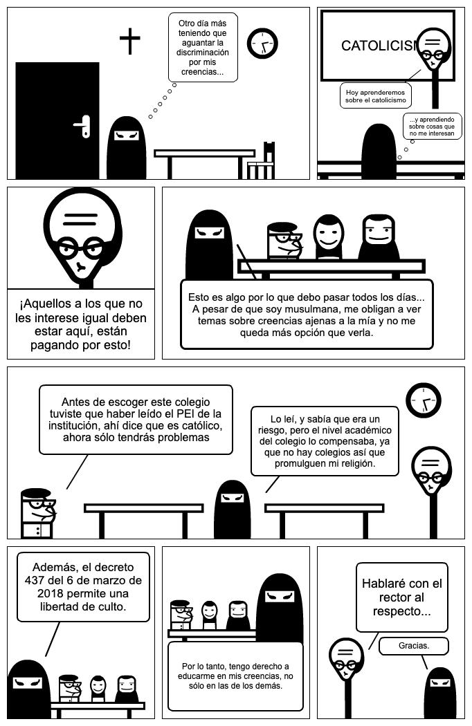 Discriminación de culto