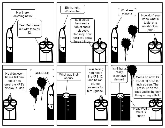 Jacob Stoners Computer Class Comic