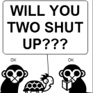 -The Two Monkeys- What? Nothing!!