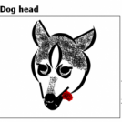 Dog head