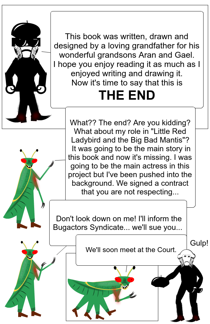 Bugs stories: the end.