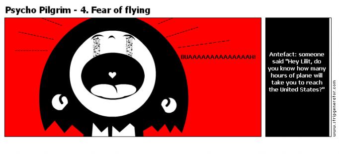 Psycho Pilgrim - 4. Fear of flying