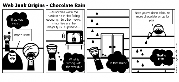 Web Junk Origins - Chocolate Rain