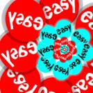 Easy Button Swirl