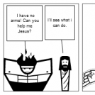 Jesus saves the day