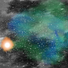 View of the Yellow Dwarf