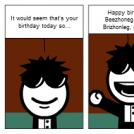 Happy Birthday Brezhoneg