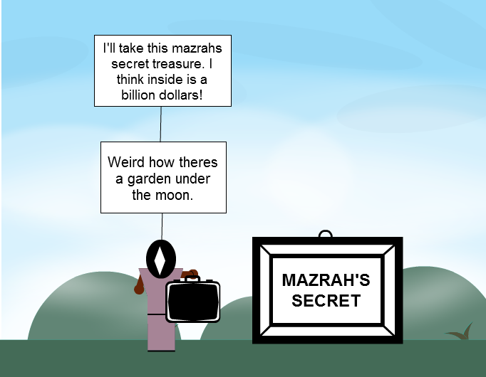 The Treasure of Mazrah Secret