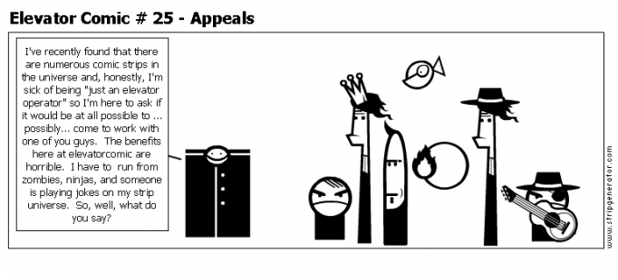 Elevator Comic # 25 - Appeals