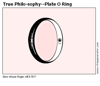 True Philo-sophy--Plate O Ring