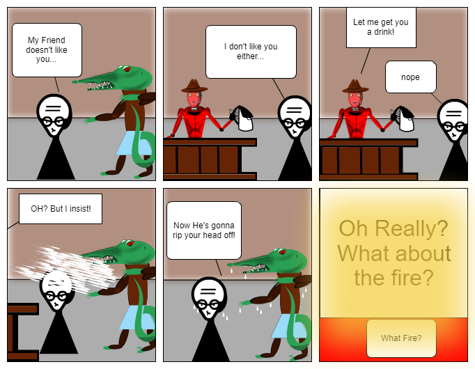 What Fire?
