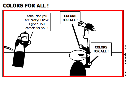 COLORS FOR ALL !