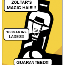 ZOLTAR'S MAGIC HAIR