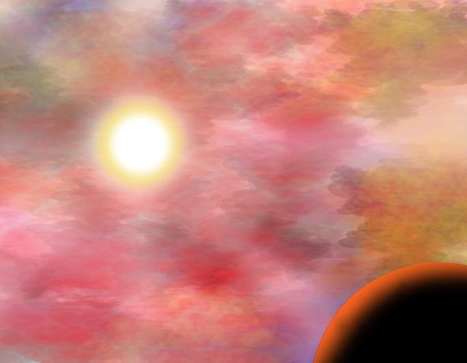 A Festive Sky