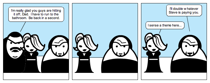 Steve's Dad Meets Kim