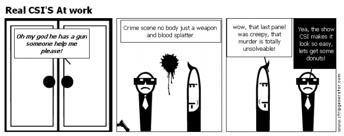 Real CSI'S At work