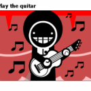 Play the quitar