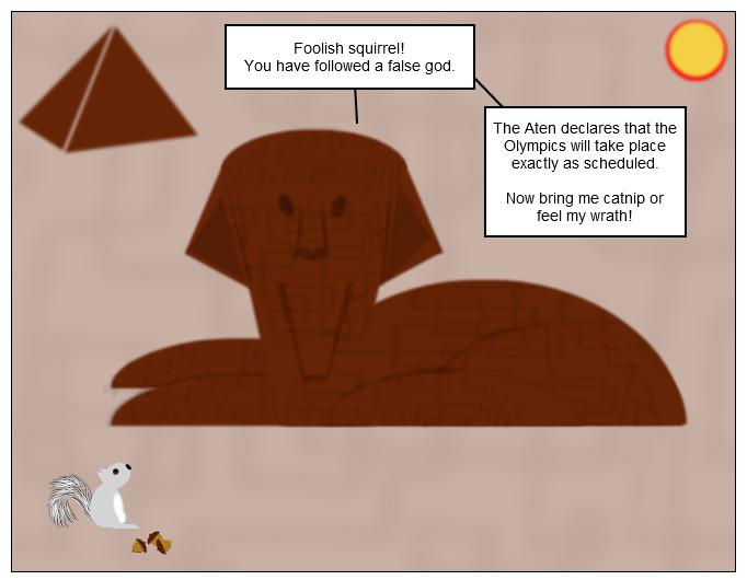 Sphinx & Squirrel