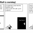 Lets burn the Daily Mail (a warning)