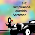 Feliz Cumpleaños Abrotons