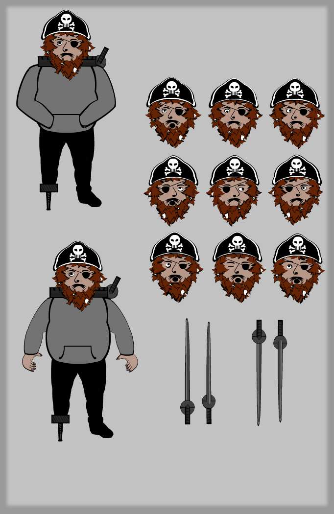 Character Variations: Dirtbeard
