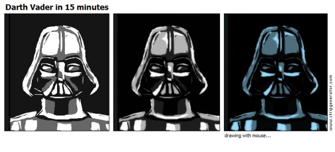 Darth Vader in 15 minutes