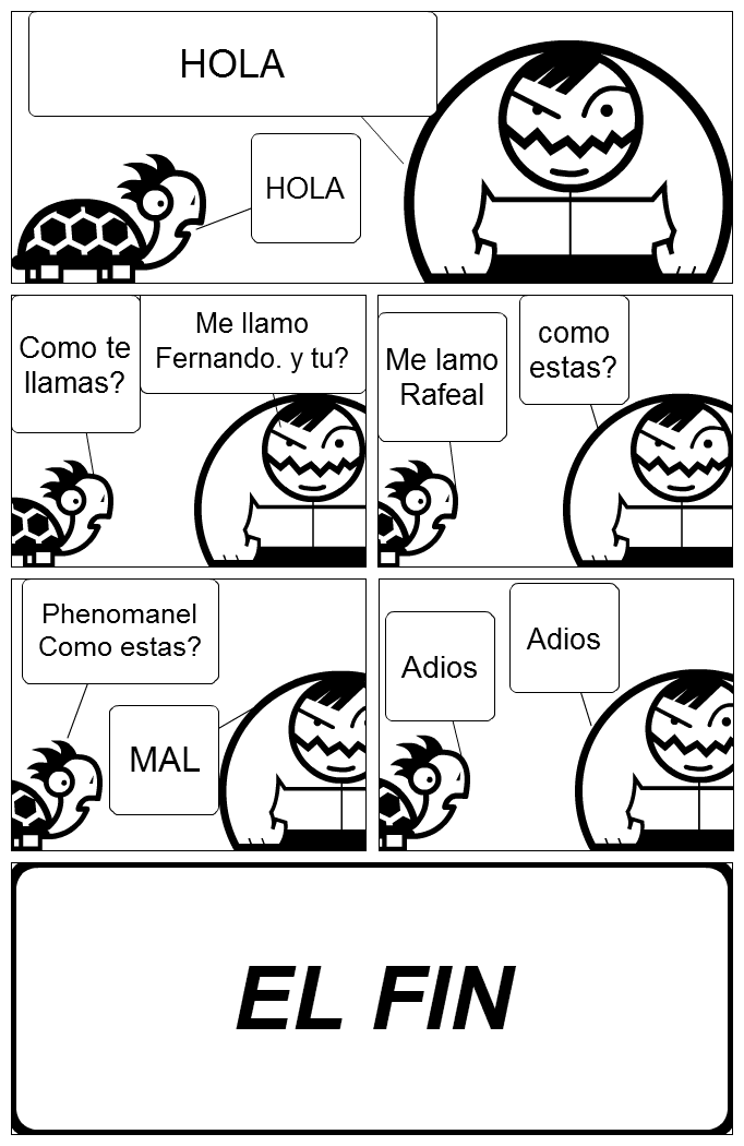 Stripgenerator.com - spanish comic strip