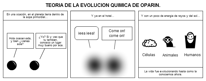 Teoria de Evolucion Quimica Evolucion Quimica