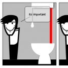 . . . and  . . .and the importance of flushing