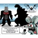 Robot Monster vs Godzilla vs Oktikulon!