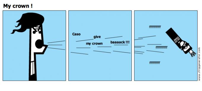 My crown !