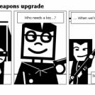 Bill the Klingon - Weapons upgrade