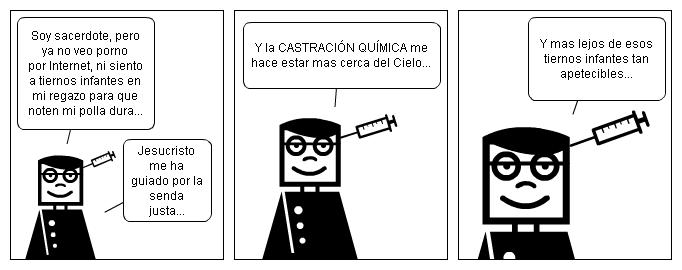 CASTRACION QUIMICA PARA SACERDOTES... ¡¡¡YA!!!
