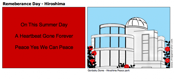 Remeberance Day - Hiroshima