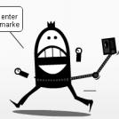 Social networks gadgets